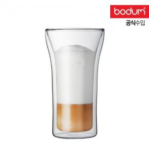 [보덤]아쌈 2개입 더블월 유리잔 0.4L BD4547-10