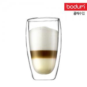 [보덤]파비나 2개입 더블월 유리잔 0.45L BD4560-10