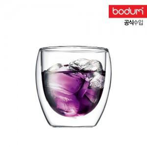[보덤]파비나 2개입 더블월 유리잔 0.25L BD4558-10