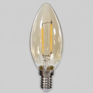 S_101246 LED 촛대구 에코 2W E14 B35 전구색 묶음