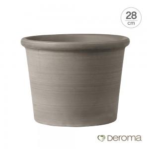 [데로마 Deroma] 테라코타 이태리토분 인테리어화분 실린드로 볼다토 프리미티보(28cm)