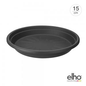[엘호 elho] 유니버셜 소서 라운드 플라스틱 화분받침대(15cm)