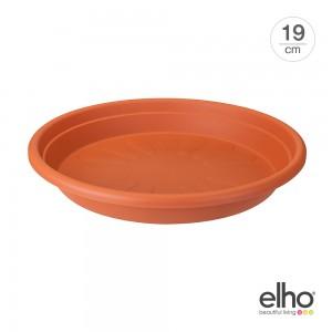 [엘호 elho] 유니버셜 소서 라운드 플라스틱 화분받침대(19cm)