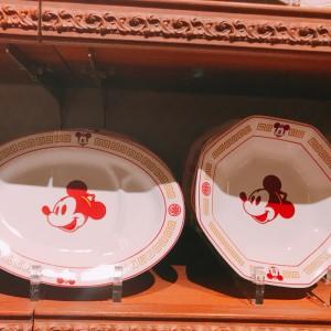 디즈니랜드 미키마우스 중국식 접시 2종류