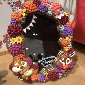 디즈니스토어  헬로 칩과 데일 탁상 거울