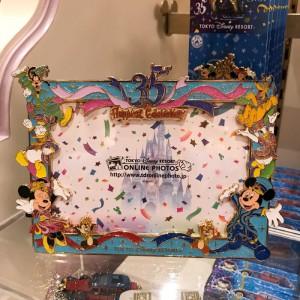 35주년 기념 도쿄 디즈니랜드 캐릭터 액자