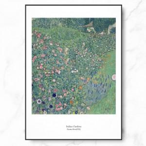 클림트 인테리어 그림 액자 포스터 이탈리안 정원