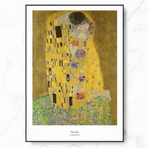 클림트 인테리어 그림 액자 포스터 키스