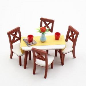 [adico] DIY 미니어처 키트 - 식탁