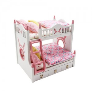 [adico] DIY 미니어처 키트 - 2층 침대