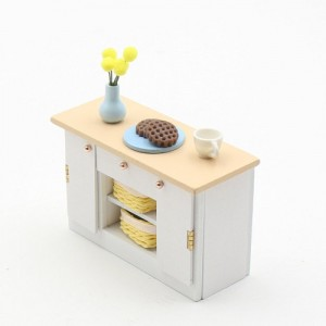 [adico] DIY 미니어처 키트 - 아일랜드 식탁