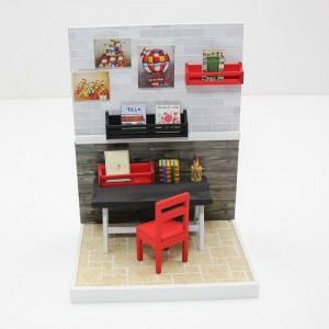 [adico] DIY 미니어처 룸 - 작업실