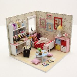 [adico] DIY 미니어처 하우스 - 아델리아의 방