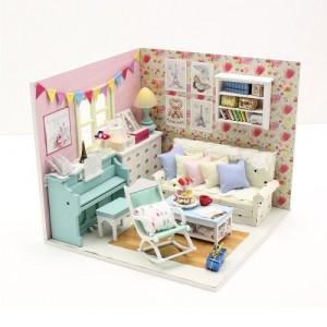 [adico] DIY 미니어처 하우스 - 헤밀라의 방
