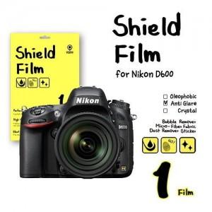 비스비 니콘 D600 쉴드필름 지문방지 액정보호필름 (1 film) / VISBYH SHIELD FILM ANTI GLARE