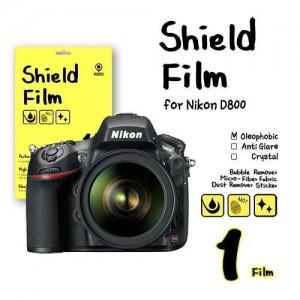 비스비 니콘 D800 쉴드필름 올레포빅 액정보호필름 (1 film) / VISBYH SHIELD FILM OLEOPHOBIC