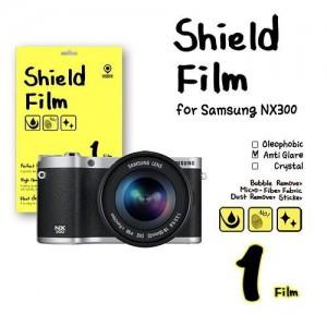 비스비 삼성 NX300 쉴드필름 지문방지 액정보호필름 (1 film) / VISBYH SHIELD FILM ANTI-GLARE