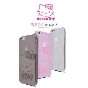 헬로키티 아이폰6플러스 3D 실루엣 젤리케이스 Hello Kitty 3D Silhouette Case iPhone6Plus