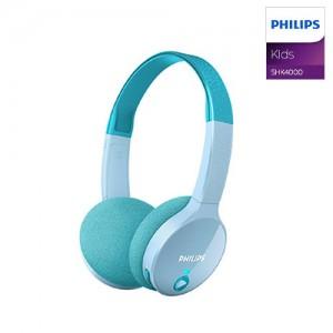 필립스 키즈 헤드폰 SHK4000 무선 블루투스 어린이용