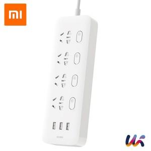 샤오미 3USB 4구 USB 멀티탭 스마트 콘센트 플러그