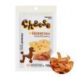 [더독]치킨 치즈 슬라이스 100g x 3개 + 줄줄소세지 1개증정
