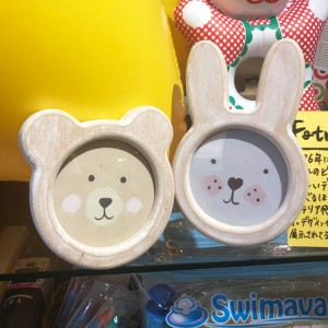 Sass and Belle 우드 포토 프레임 (곰,토끼 2종류)