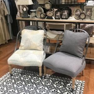 [꼬떼따블] 인더스 철재 의자 (색상 4가지, 택1)