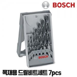 [보쉬] 목재 드릴 비트세트 7피스 2607017034