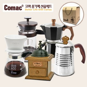 Comac [선물세트]홈카페 풀세트 5종세트(DS4-M4-KW1-P3-E4)