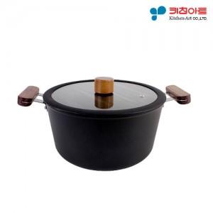 키친아트 FORT 인덕션냄비 양수20cm (BJ1005)
