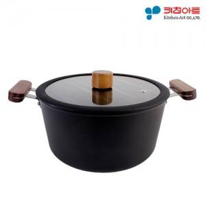 키친아트 FORT 인덕션냄비 양수24cm (BJ1003)