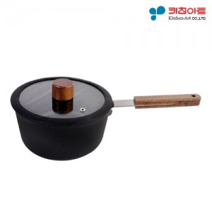 키친아트 FORT 인덕션냄비 편수18cm (BJ1006)