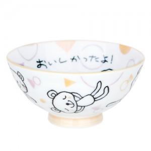 니코트 키즈 곰돌이 밥공기, 볼 JAPAN