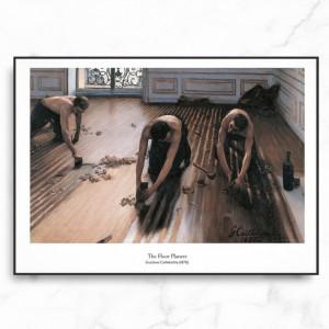 카유보트 인테리어 그림 액자 포스터 마루의 인부들