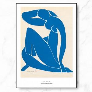 마티스 인테리어 그림 액자 포스터 Nu Bleu