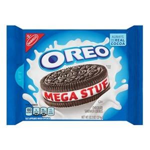 [오레오]      메가 스터프 초콜릿 샌드위치 쿠키, 13.2 온스