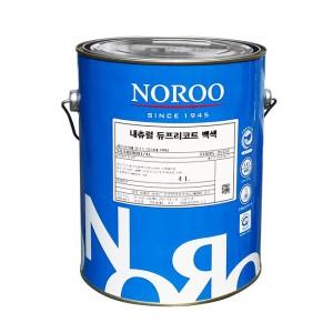 노루페인트 곰팡이/결로방지 친환경 수성페인트 듀프리코트 (무광) 4L