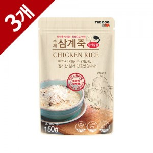 수제 건강 삼계죽(3개)
