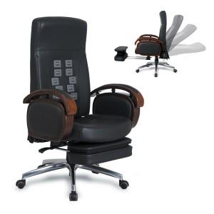 이노체어 GA310-B(천연소가죽콤비) 의자