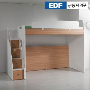 [동서가구]컨셉트MU-E120 베이직 수납형계단 벙커침대  DF626513