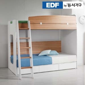 [동서가구]컨셉트MU-E210 사다리 수납이층침대세트 DF626506