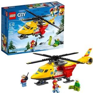 레고 시티 시티구급헬리콥터 60179 빌딩 킷 (190 피스)