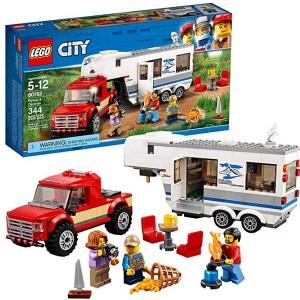 레고 시티 픽업트럭과 캐러밴 60182 빌딩 킷 (344 피스)