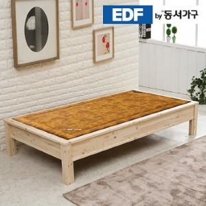 EDFby동서가구 편백나무 평상형 싱글 B형 황토볼 침대 DFF366AG