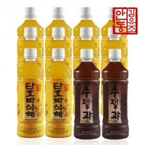 [10+2] 안동김유조 전통 단호박식혜 10병 + 수정과 2병