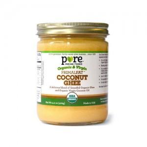 [퓨어 인디언푸드]유기농 목초사육 코코넛 기버터 402g