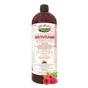 Liquid Morning Vitamins by MaryRuth (Raspberry) Vegan Multivitamin