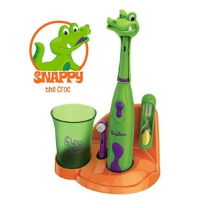 Brusheez Children's Electronic Toothbrush Set_Snappy the Croc