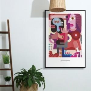 [modern art] 픽토프레임 PICF-728B