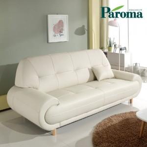 파로마 윈디아 3인용 소가죽 디자인소파 K19